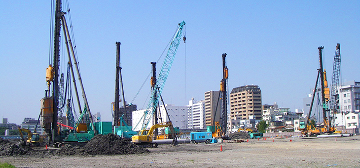 FOUNDATIONS (Piles and Piling) | Products | Nippon Concrete
